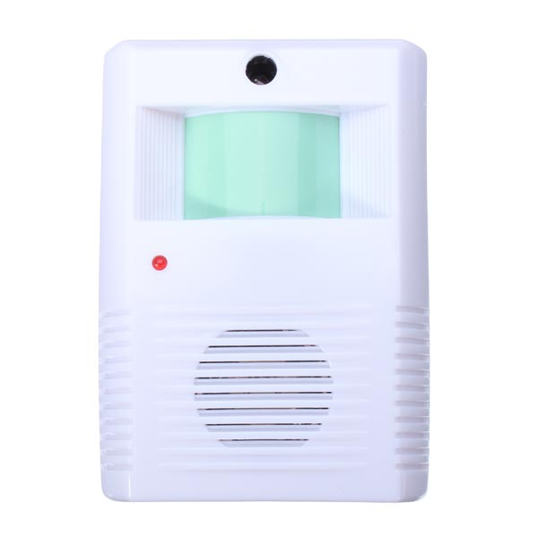 Hot Sale High quality Home Hotel Restaurant Entry Door Bell Welcome Doorbell Electronic Motion Sensor Alarm White(China (Mainland))
