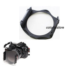 Free Shipping! Round Colour Filters Filter DSLR SLR Digital Camera Lens Hood Holder for Cokin P Series Adapter Ring Mount  A086