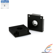 3d printer parts Makerbot MK7 / MK8 40*40*11mm Heatsink Cooling Fin Aluminum Heat Sink Extruder Motor