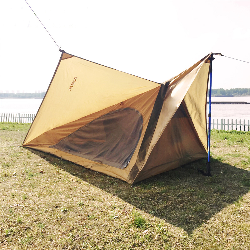 POINT BREAK Single Tent Outdoor Camping Hiking Waterproof and Anti-mosquito Folding Tent Light and portable Tent(China (Mainland))