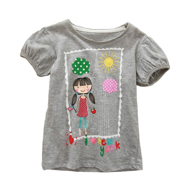 High Quality 18 Months-6T Baby Boys Girls T-Shirt Summer Children's Clothing Kids Tops 100% Cotton Cartoon Boy Girl T Shirt(China (Mainland))