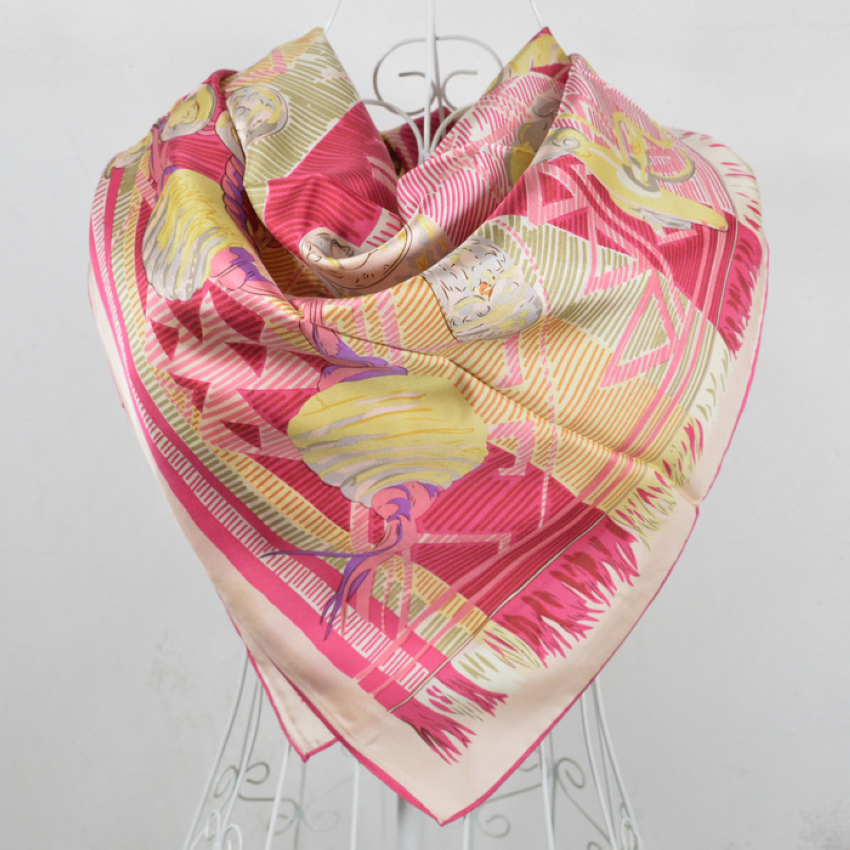 get cheap chain silk scarf aliexpress