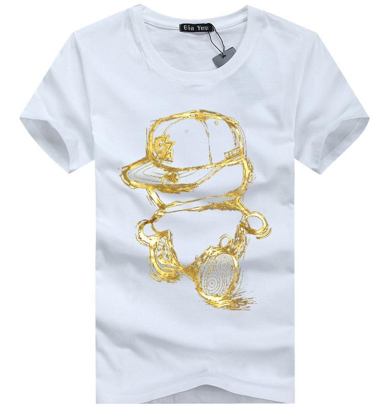 T Shirts Cartoon Characters : Aliexpress buy cartoon gold tshirt summer style o