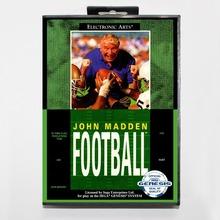 Buy 16 bit Sega MD game Cartridge Retail box John Madden Football game cart Megadrive Genesis system for $9.24 in AliExpress store