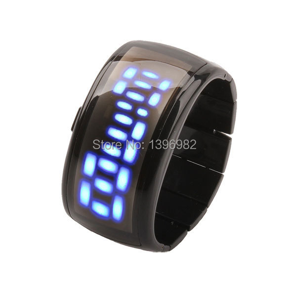 Watches Men Binary LED Watch Sport Clock Outdoor Fashion Watch Calendar Luxury Digital Lovers Watches Pair relogio feminino(China (Mainland))