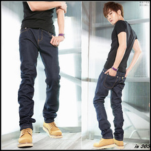 Free Shipping Hot Sale 2012 mens fashion jeans,casual  trousers,straight pants,SIZE 29~32 s1274(China (Mainland))