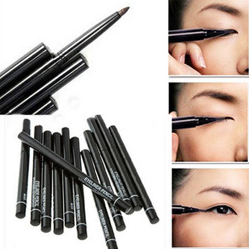 Easy colored and long lasting Makeup Eyeliner Pen Waterproof Automatic Eyeliner Pencil
