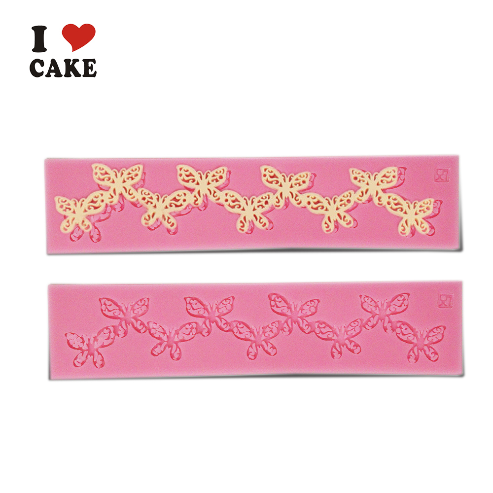Butterfly Chain Cake Decorating Tools Wilton 3d Silicone Cake Mold Fondant Cake Decorating Tools