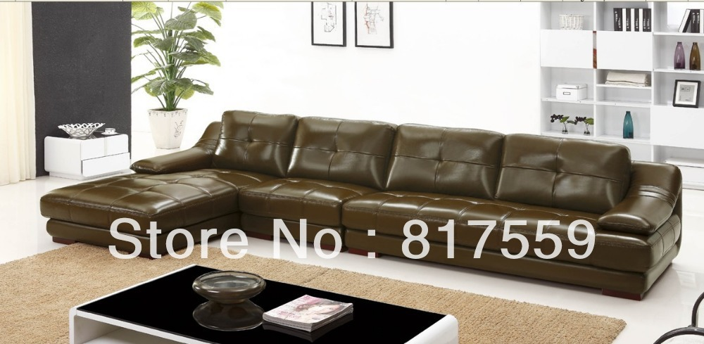 Full Grain Leather Sofa Black Leather Sofa In Living Room Sets From Furniture On