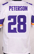 NEW Men's 5 Teddy Bridgewater 14 Stefon Diggs 28 Adrian Peterson 26 Trae Waynes 55 Anthony Barr 22 Harrison Smith elite jersey(China (Mainland))