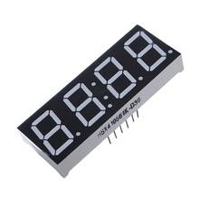 High Quality 0.56 Inch 7 Segment 4 Digit Super Red Clock LED Display Common Anode Time 12 Pins For DIY(China (Mainland))