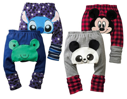 ( 12pieces/lot) High Quality Lovely Cartoon Baby Autumn And Winter PP Pants Infant Trousers<br><br>Aliexpress