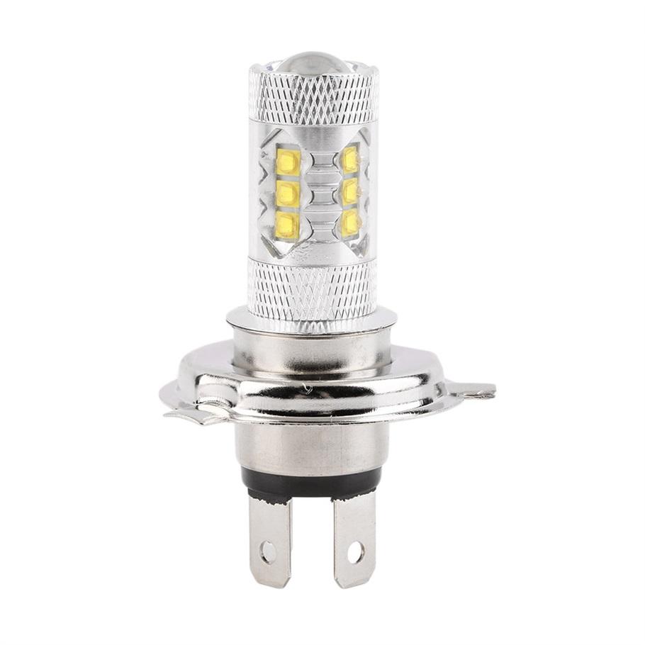 New H4 80W High Power Car LED Fog DRL Daytime Running Light Bulb Auto Headlight Light Source DC12V hot selling(China (Mainland))