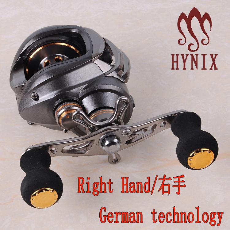 New Water Drop Wheel 12+1BB Ball Bearings Right Hand Bait Casting Carp Fishing Reel High Speed Baitcasting Pesca 6.3:1 Black(China (Mainland))