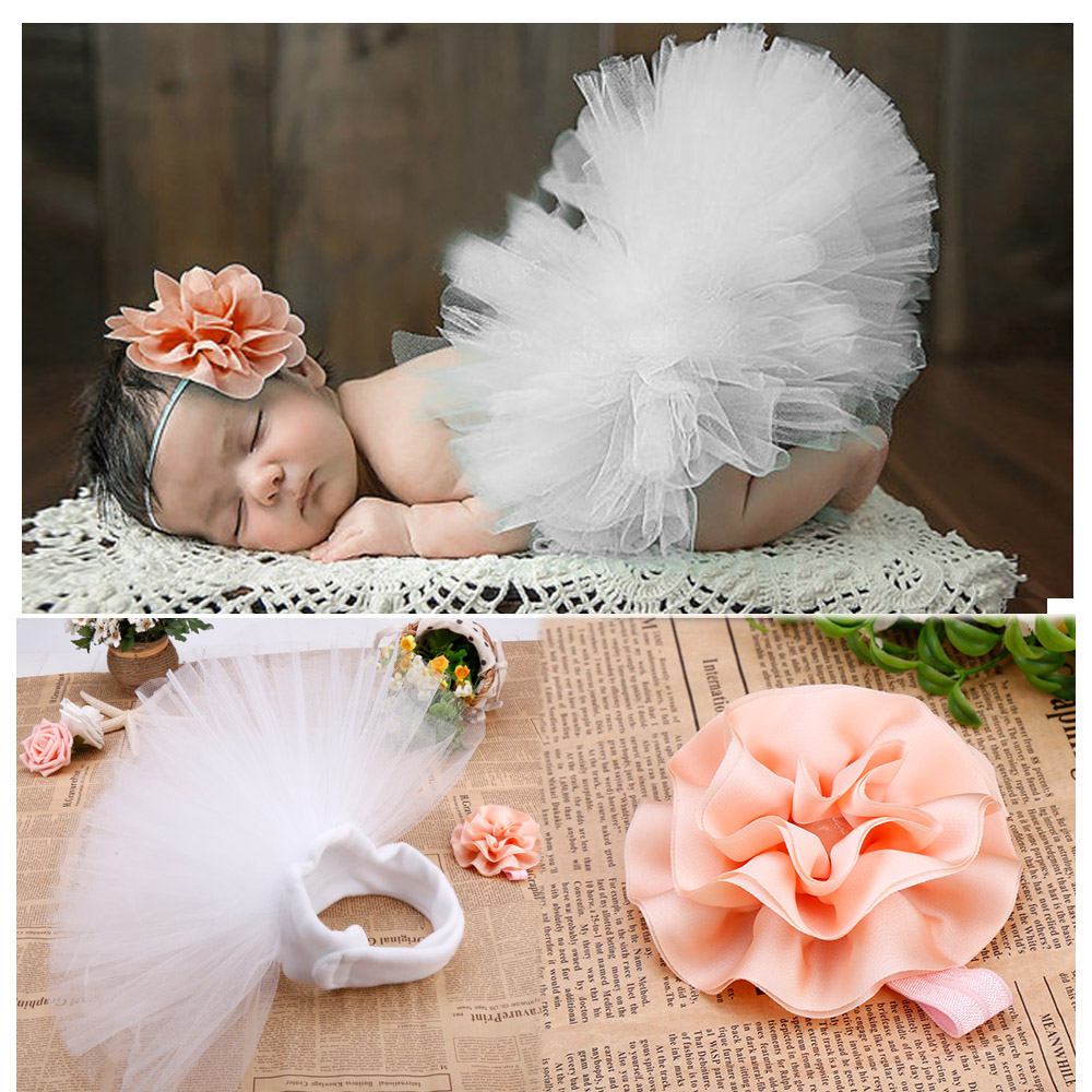 0-6 Months Hot Fashion Baby Girls newborn photography props Infant Baby Costume Photo props Flower headwear 67