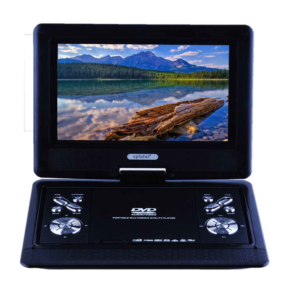 eplutus 10.2 Inch TFT-LCD Display DVD Player, Double 40x20mm Reproducer DC9.5V Portable DVD, 2W Audio Output PortableDVD EP-1026(China (Mainland))