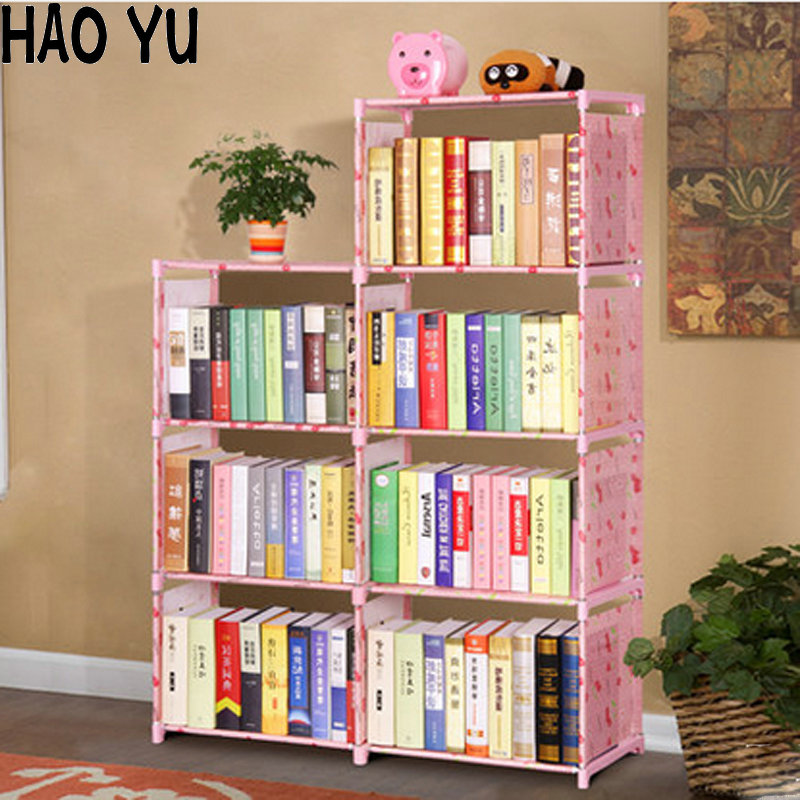2016 new creative diy 3 layers bookcase portfolio brief for Diy modern bookshelf