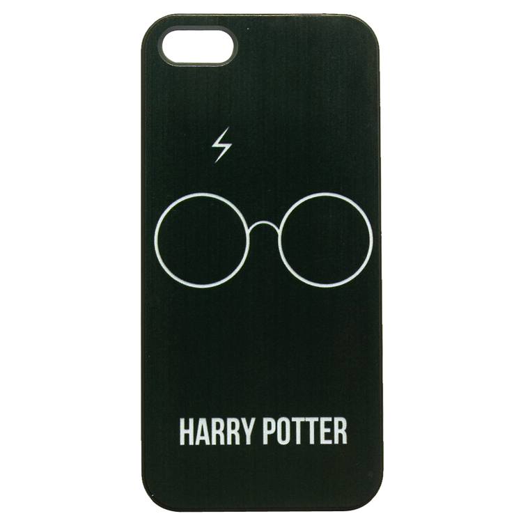 Dirt Shock Proof Harry Potter Glass White Design Black Skin Hard Plastic Phone Case Cover Iphone 4 4S 5 5S 5C 6 Plus - ShoppingCenter store