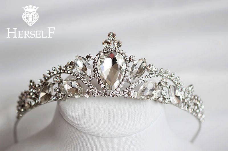 تيجان ملكية  امبراطورية فاخرة Full-Rhinestone-Hair-Bands-font-b-Royal-b-font-font-b-Queen-b-font-font-b