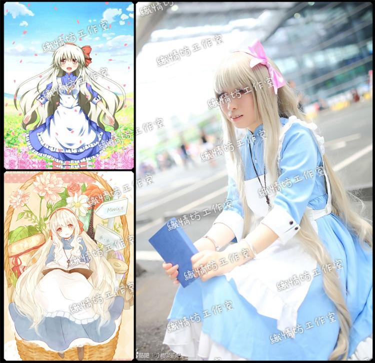 Женское платье Lolita Dresses Kagerou Kozakura Kagerou Project Cosplay юбка strawberry witch lolita sk