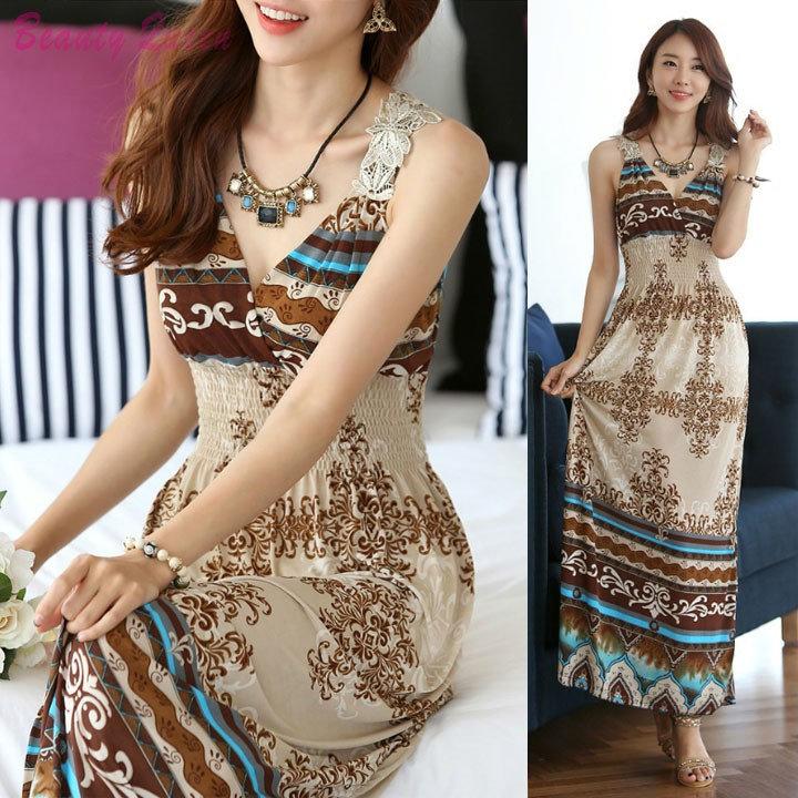 Boho Maxi Dress Pattern 2015 Hot Patterns Maxi Dress