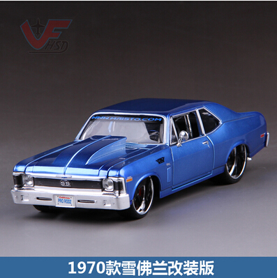 1970 Chevrolet Maisto 1:24 modified version Simulation alloy car model Toy Classic cars American Muscle Car Fast & Furious(China (Mainland))