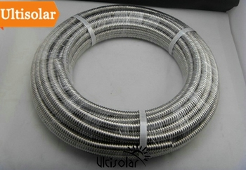 1/2 inch 15mm Diameter Corrugated Stainless Steel Pipe SUS304 Flexible and Settable as Hot Water and Cold Water Pipe Ultisolar