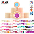 CANNI Gel Lacquer 5ML 141 Pure Colors Optional UV Gel Manicure Nail Art Tips Polish Design