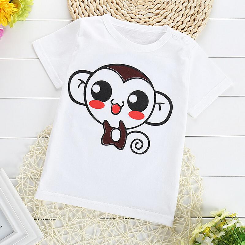 Bobo Choses Children Clothing Dinosaur New 2016 Baby And Bboys Cartoon T Shirt Kids Sleeve Tshirt Girls' Summer Printed T-shirt(China (Mainland))