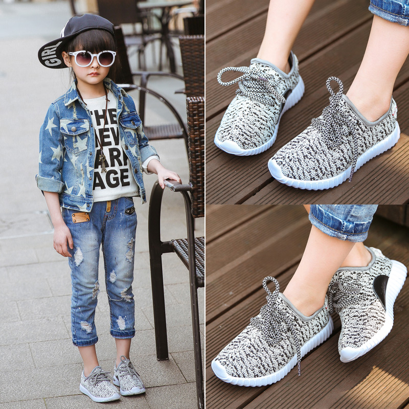 Fashion new arrival Children shoes 2016 boys sneakers kids running shoes children leisure trainers breathable kids sports shoes(China (Mainland))