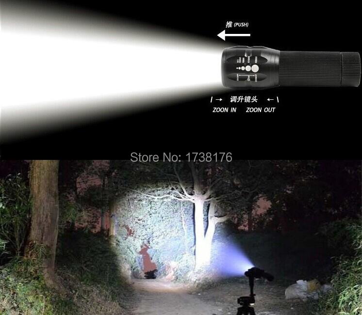 Гаджет  lanterna recarregavel mountain bike bicycle light led flashlight Torch 2000 Lumens aa Zoomable Spotlight For camp bracket 16500 None Свет и освещение