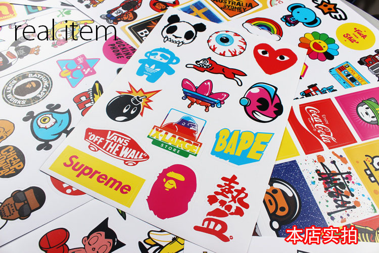 Wholesale Skateboard Stickers /skateboards Sticker /