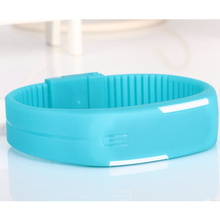 relogio feminino Sport LED Watches Candy Color Silicone Rubber Touch Screen Digital Wristwatch Women Men Relogio