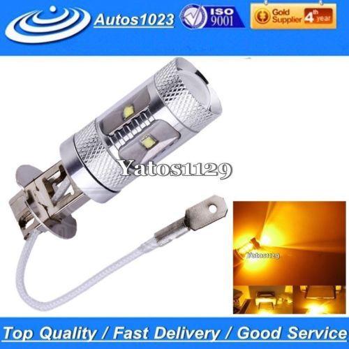 10 X Amber 30W CREE H3 LED Fog Light Bulb 12V 24V car driving drl Lamp - Ystart store