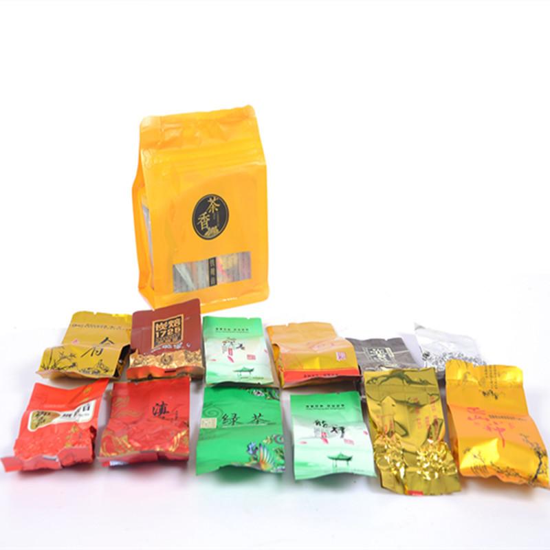 Гаджет  Promotion!Natural Organic 12 Different Flavor Health Care Oolong Tea Black Tea Dahongpao Green Tea Scented tea  puer Tea+ GIFT None Еда