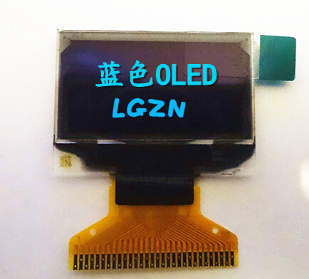 0.96 inch blue OLED Screen 128*64(China (Mainland))