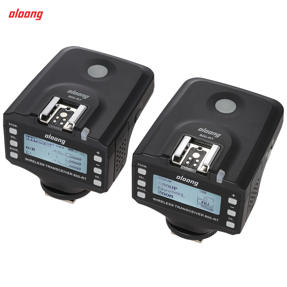 Oloong 800-RT TTL Wireless Remote Flash Trigger Transceiver for Canon 550D 600D 650D 700D Rebel T2i/T3i/T4i/T5i ect DSLR Cameras(China (Mainland))