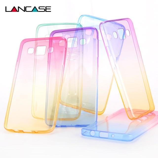 Case Samsung Transparent Ombre różne wzory