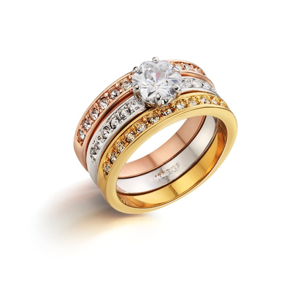 fashion wedding rings for couples micro pave