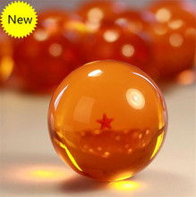7.5CM 7cm big size 1 2 3 4 5 6 7 star dragonball dragon ball crystal balls z action figures classic toys for chlidren New in box(China (Mainland))