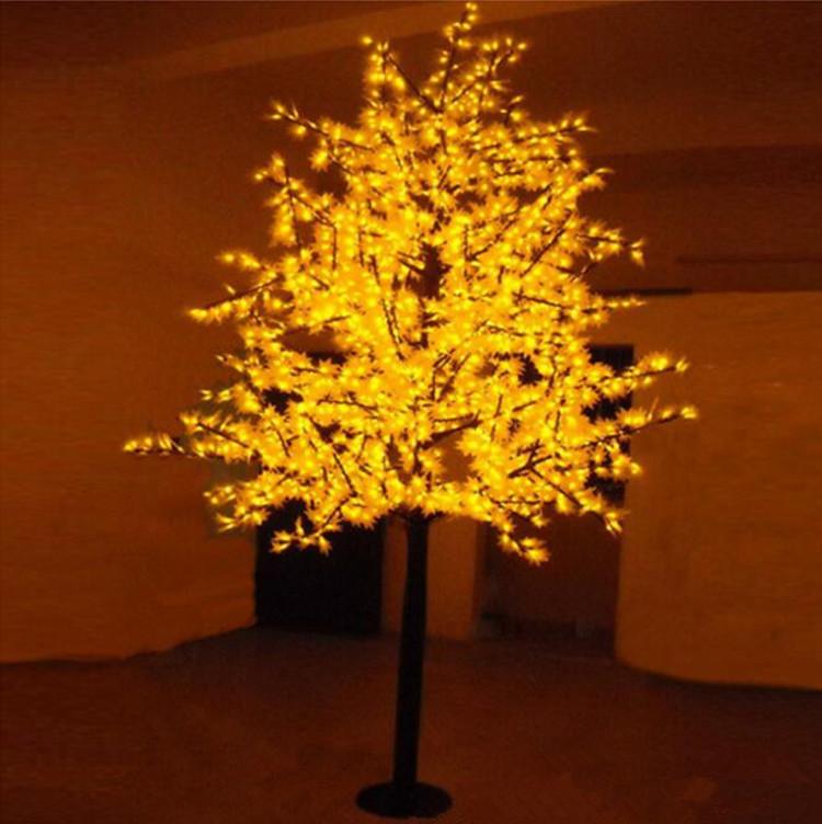 Free Shipping LED maple tree light,1.5M 636Leds Waterproof IP65 Led christmas tree light ,led holiday light AC110-240V(China (Mainland))
