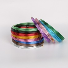 10M Anadized Aluminum Wire versatile painted aluminium metal wire, Ni & Pb free - 18 gauge (1mm) DIY jewelry Findings(China (Mainland))