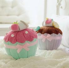 Macaron Cupcake shape 3D Cushion Pillow