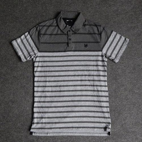 Mens Stripe Poleras Polo Shirts Brand Rayas Tenis Masculino Collar Collares Surf Brand Patins Male Sports Gym Skates Clothing(China (Mainland))