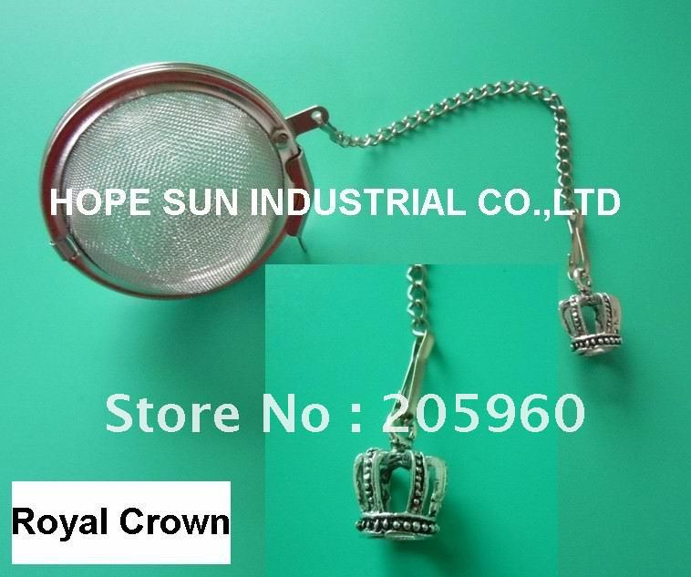 Free Shipping _ Wholesale DELIGHTFUL and CHARMING PATTERNS - ROYAL GROWN Stainless steel tea infuser/tea strainer/tea ball(China (Mainland))