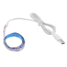 Buy ICOCO 6 Colors 5V 50CM USB Cable Power LED Strip Light SMD3528 LED Tape Christmas Festival Decorative TV Background Lighting for $1.71 in AliExpress store