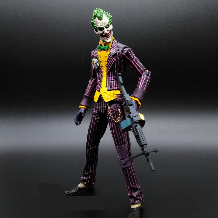 1pcs/set Joker Superman V Batman Justice League The Dark Knight Marvel PP BAG Rises Avengers Super Hero PVC 17cm Figures(China (Mainland))