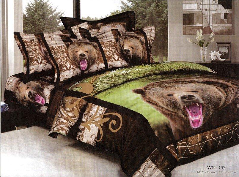 black bear bedding set king
