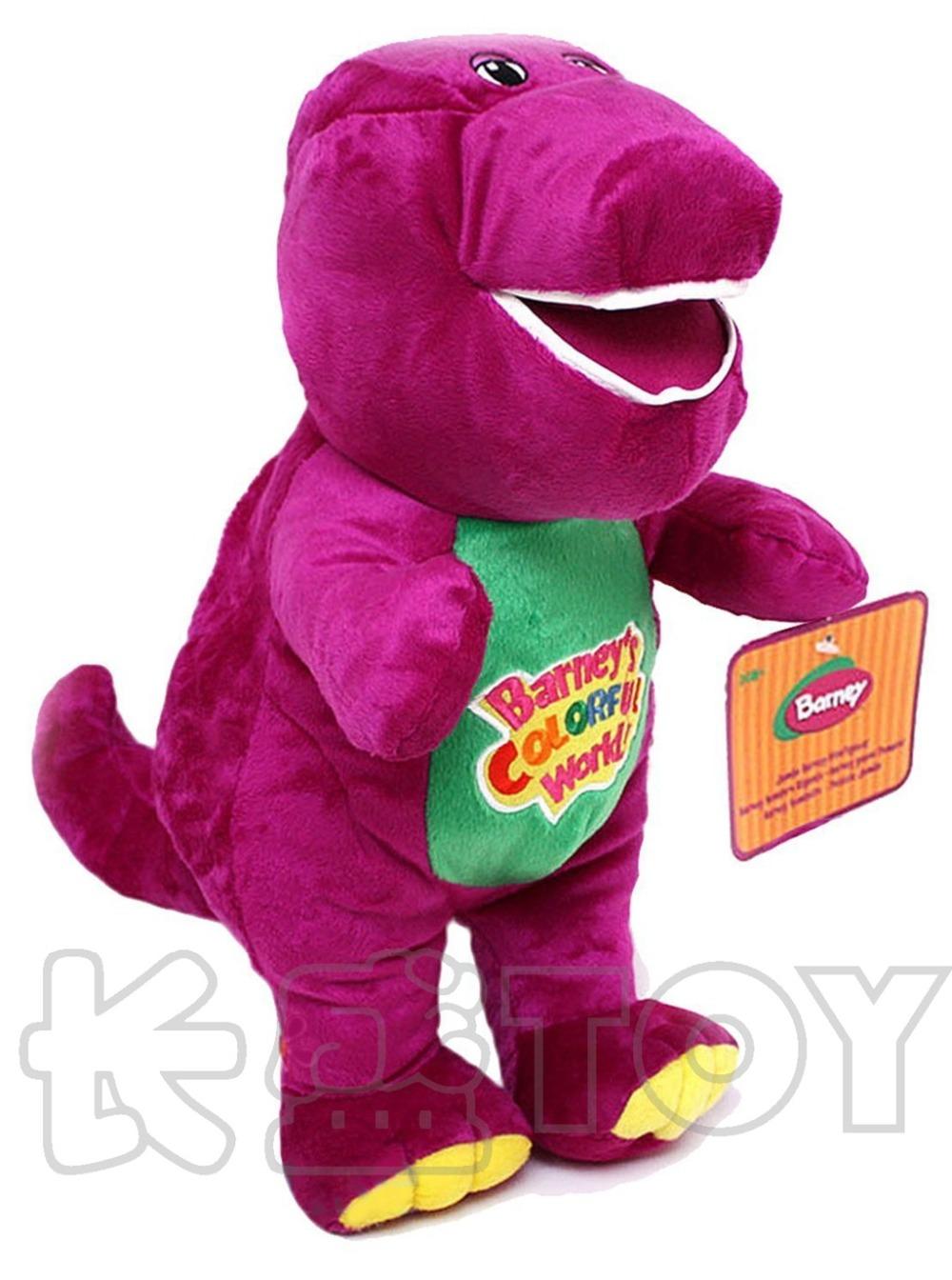 Purple dinosaur Barney plush toy doll children Stuffed toy birthday gift(China (Mainland))