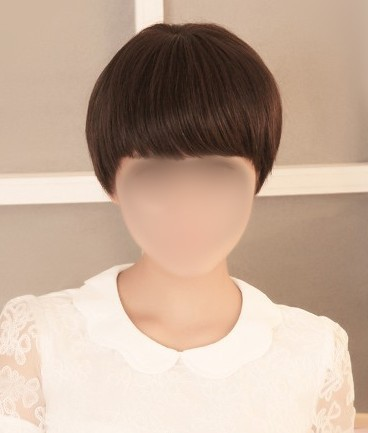 2013 Fashion Hand-made The Top Of the Head Real Hair Wig Female Short Hair wig Handsome<br><br>Aliexpress